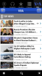 Voice of America for Symbian devices screenshot 1/6