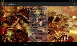 Orks Soundboard screenshot 2/2