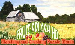 Fruit Crush HD - Matching n Splashing Puzzle Mania screenshot 1/6