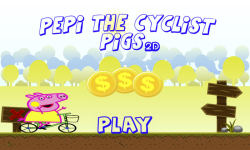 Pepi The Cyclist Pigs 2D screenshot 1/6