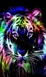 Multicolor Tiger LWP screenshot 1/3
