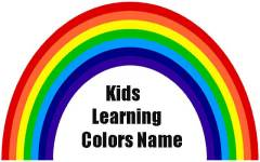 Kids Learning Colours Name screenshot 3/3