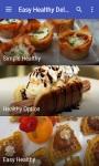 Easy Healthy Delicious Recipes screenshot 3/6