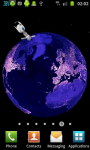 Earth At Night 3D Live Wallpaper screenshot 1/6