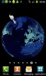 Earth At Night 3D Live Wallpaper screenshot 2/6