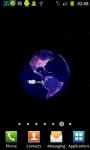 Earth At Night 3D Live Wallpaper screenshot 6/6