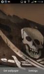 Pirate Flag Live Wallpaper screenshot 1/5