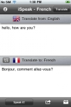 iSpeak French screenshot 1/1