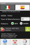 Tele2dic WEP WPA KeyGen screenshot 2/6