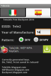 Tele2dic WEP WPA KeyGen screenshot 5/6
