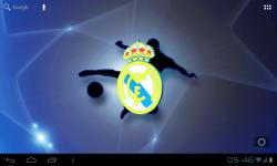 Real Madrid 3D Live Wallpaper FREE screenshot 3/4