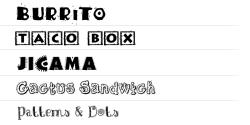 ★ Mexican for FlipFont® free screenshot 1/1