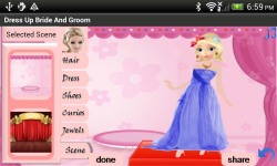 Dress Up Bride and Groom Free screenshot 2/5