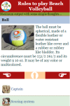 Rules to play Beach Volleyball screenshot 3/3