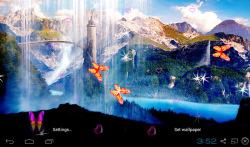 3D Waterfall Wallpapers screenshot 5/5