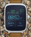 LED Watchface with Weather swift screenshot 1/6