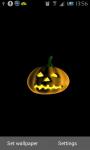 Spooky Pumpkin Live Wallpaper screenshot 1/2