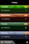 Betscores live scores screenshot 1/1