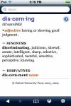Oxford American Dictionary & Thesaurus screenshot 1/1