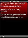 World Sport screenshot 3/4