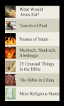Bible Lists screenshot 1/2