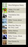 Bible Lists screenshot 2/2