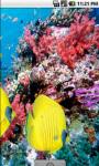 Yellow Fish Underwater Live Wallpaper screenshot 3/4