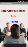 Basic Interview Mistakes screenshot 2/3