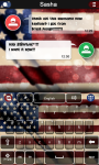 American keyboard theme screenshot 1/1