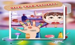Baby Girl Hand Doctor Kid game screenshot 3/6