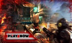 Shoot Crazy Zombie In City screenshot 1/3