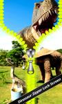 Dinosaur Zipper Lock Screen Best screenshot 1/6