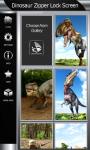 Dinosaur Zipper Lock Screen Best screenshot 4/6