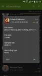 Call Recorder active screenshot 4/6