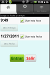 Horas de Trabajo Gratis screenshot 1/3