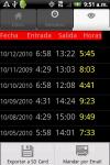 Horas de Trabajo Gratis screenshot 2/3