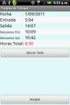 Horas de Trabajo Gratis screenshot 3/3