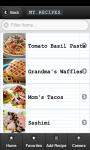 My Recipe Box screenshot 2/3
