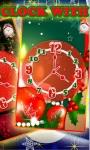 Christmas Clock with Alarm LWP screenshot 1/3