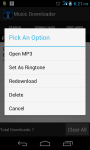 Music Search And Downloader screenshot 5/6