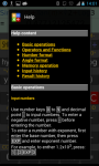 Avant Calculator Free screenshot 2/5