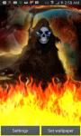 Grim Reaper Flame of Death LWP screenshot 1/4