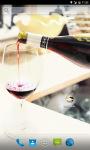 Bottle of Wine Live Wallpaper screenshot 1/4