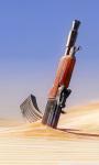Gun in Sand Live Wallpaper screenshot 1/4