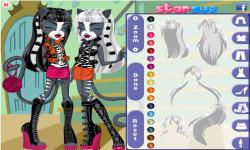 Monster High Wrecat Sisters screenshot 2/4