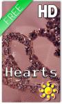 Hearts HD Live Wallpaper screenshot 1/2