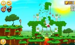 Angry Birds Review Seasons screenshot 2/4