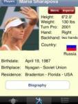 Tennis Info Database screenshot 1/1