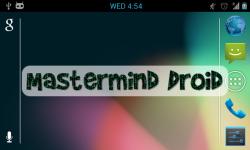 Mastermind Droid screenshot 1/6