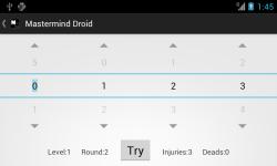 Mastermind Droid screenshot 4/6
